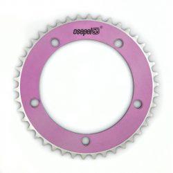 Csepel-LANCTANYER-42T-1/8-ALU-pink