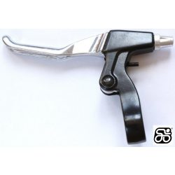 Fekkar-V-fekhez-aluminium-ezust/fekete-LOGAN-3-UJJ