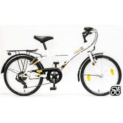 Csepel-gyerek-bicikli-Mustang-6sp-Feher