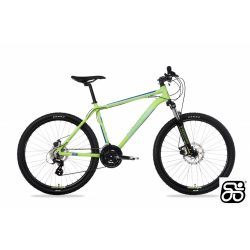 Csepel-kerekpar-Woodlands-Pro-26-MTB-21SP-Zold