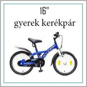 "Gyerek bicikli 16"""