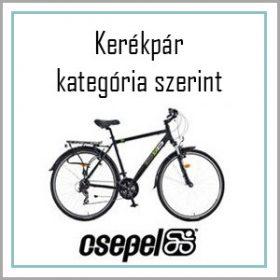 Csepel kerékpár - Kategória szerint