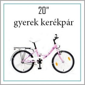 "Gyerek bicikli 20"""