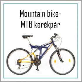 Mountain Bike - MTB Kerékpárok