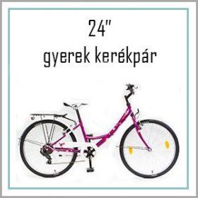 "Gyerek bicikli 24"""