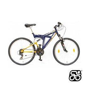 Csepel Fully kerékpár (összteleszkópos)