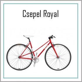 Csepel Royal / Frisco kerékpárok - 1 sebességes kivitel