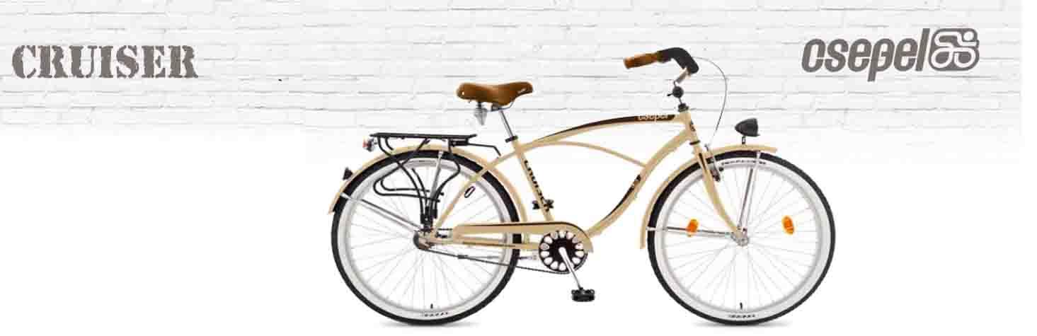 Férfi cruiser kerékpár